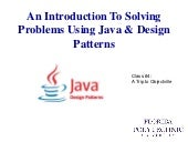 Introduction To Java Class 4 Classes And Objects