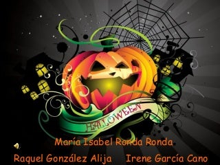 Halloween presentacion en ingles