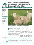 Tools for Managing Internal Parasites in Small Ruminants: Copper Wire Particles