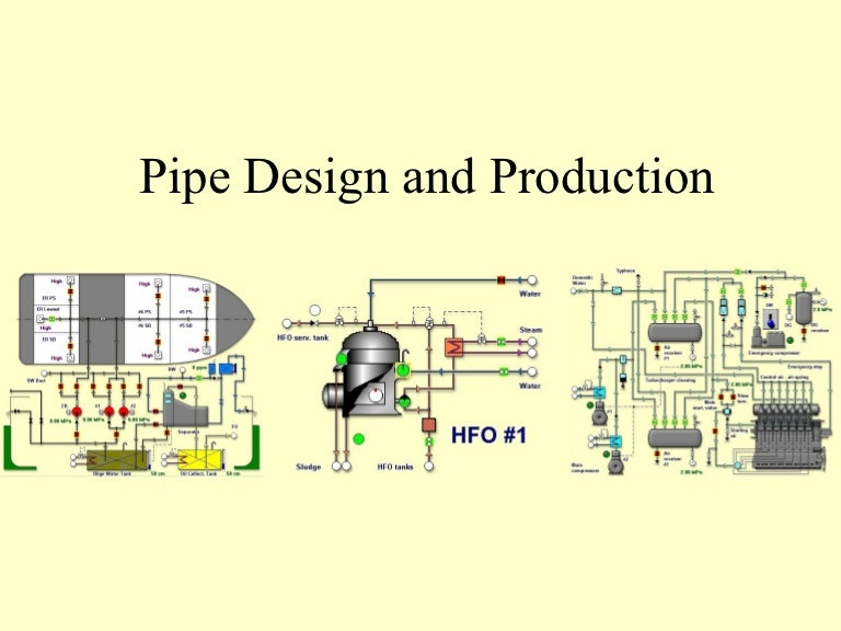 marine piping systems, wiring diagram