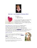 Valentine's Day Newsletter from Hilary