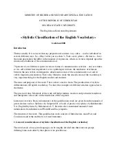 Copy of «stylistic classification of the english vocabulary»