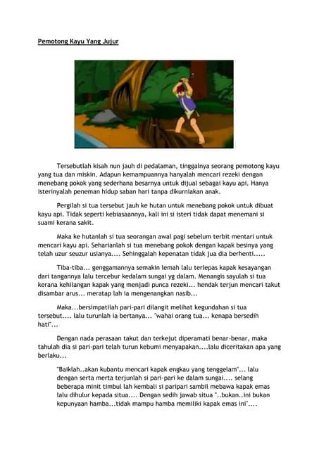 Cerita Pendek Kanak