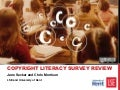 Copyright literacy survey review