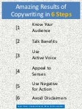 Copywriting in 6 Steps