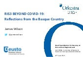 RIS3 BEYOND COVID-19. Reflections from the Basque Country