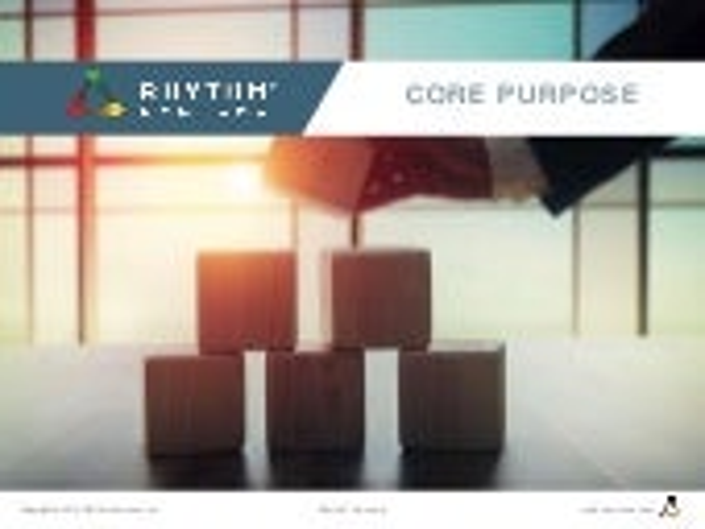 Core Purpose Rhythm University Slideshare