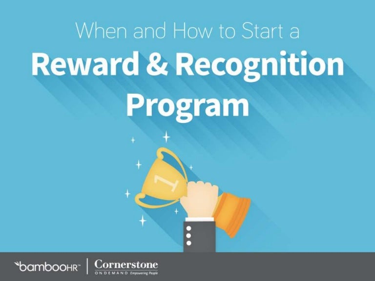 When Amp How To Start A Reward Amp Recognition Program