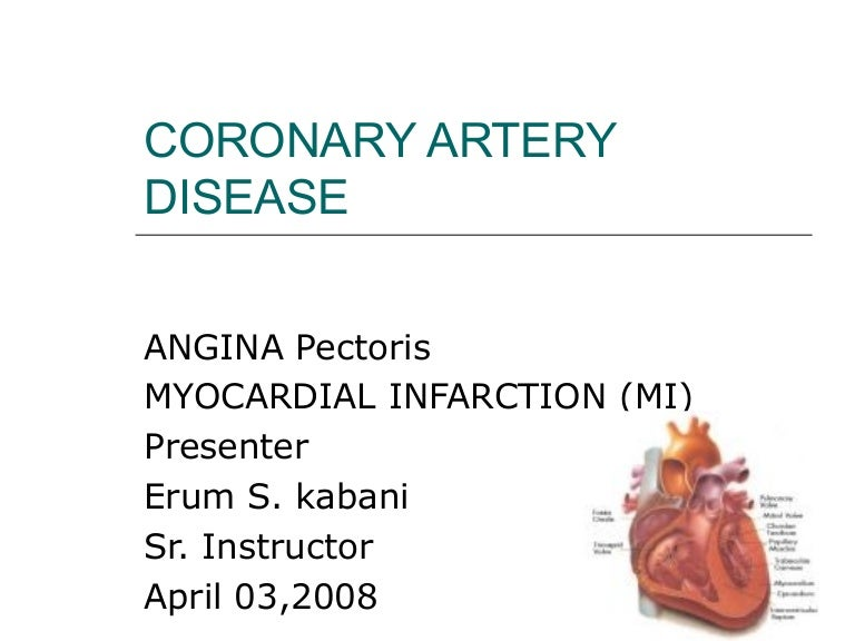 coronary artery disease cvs 2 es  1