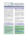Corporate ezine - Inaugural issue - March 2006