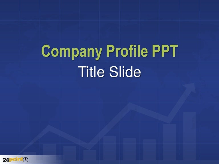 Check out our Company Profile PowerPoint Template - 24point0