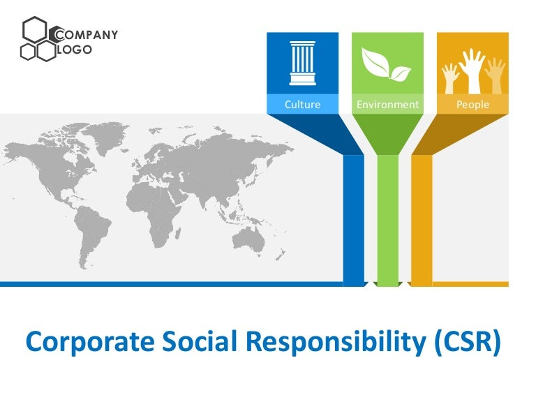corporate social responsibility csr powerpoint templates