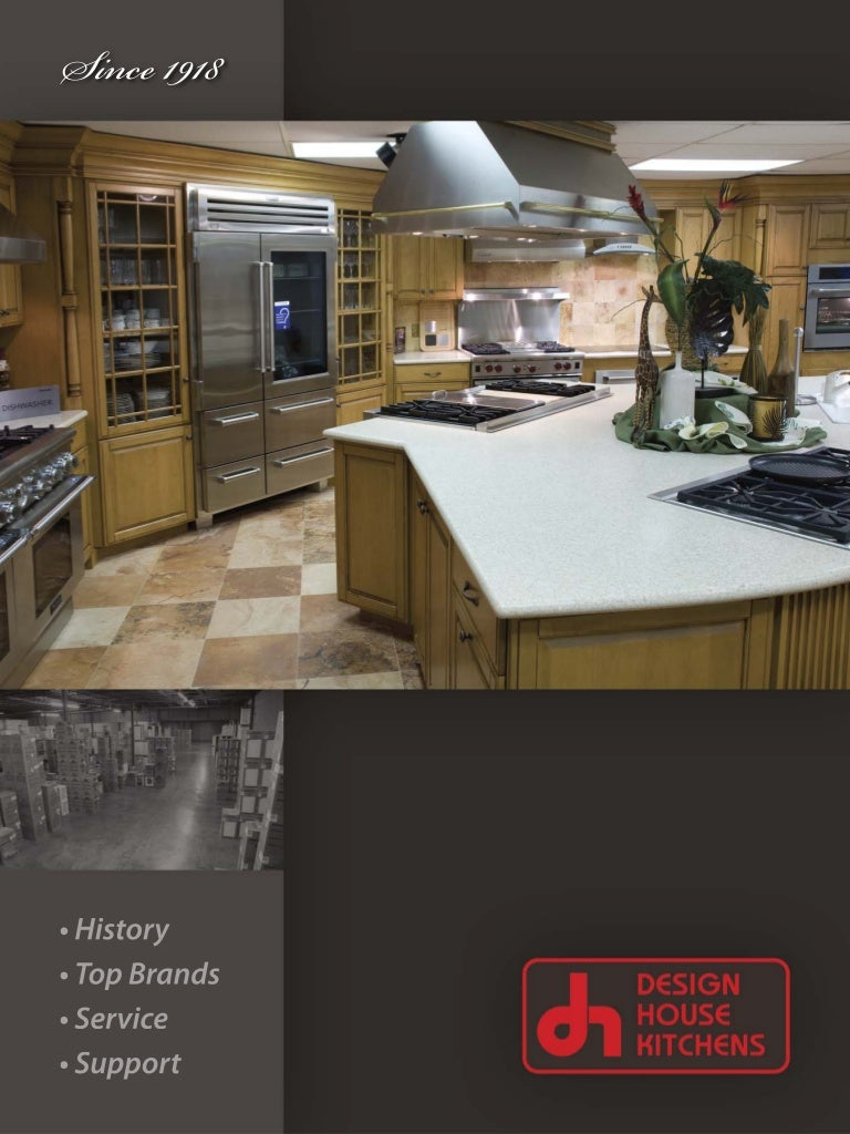 design house corporate brochure