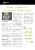 Why CLOs Must Have a Performance-Driven Mindset - Brian Lambert, GP Strategies