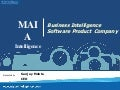 MAIA Intelligence Corporate Presentation