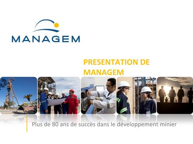 managem : présentation corporate
