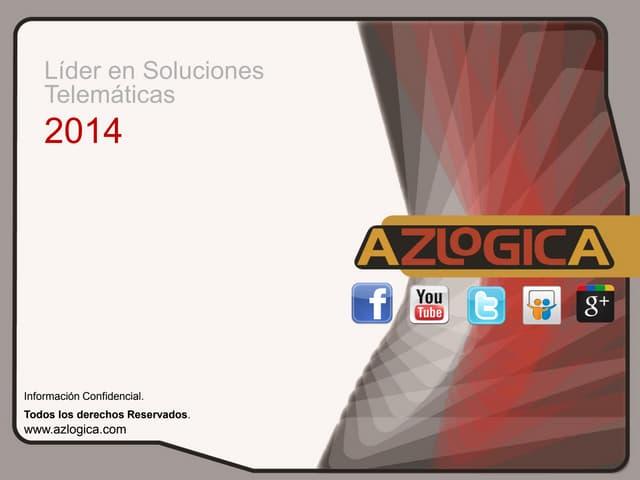 PRESENTACION CORPORATIVA AZLOGICA 2014