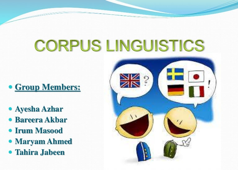 how to do a corpus study in linguistic