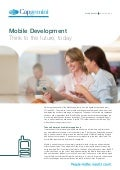 Mobile Development – Think to the future, today