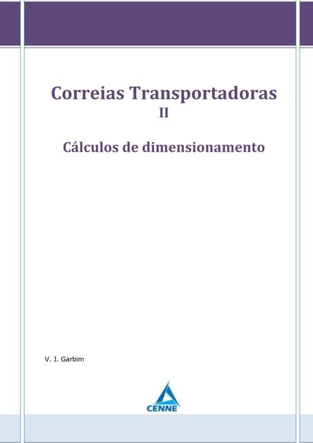Correias transportadoras - Parte 2