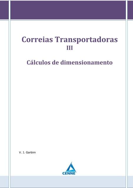 Correias transportadoras - Parte 3