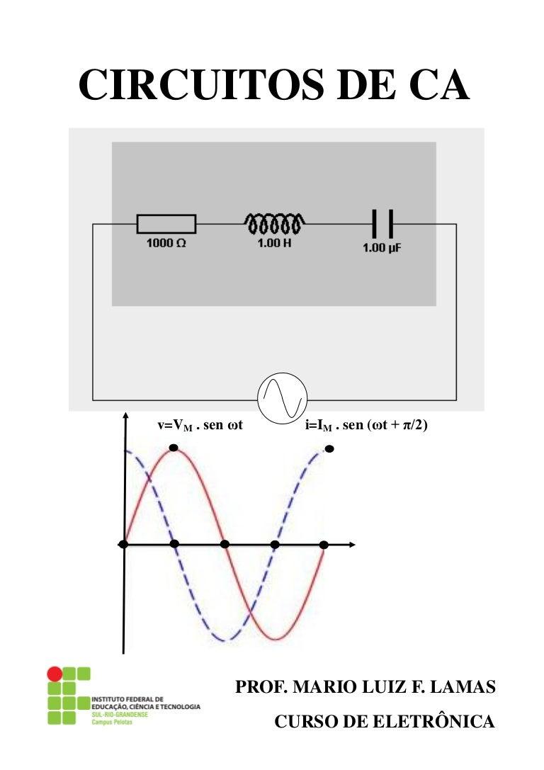 Circuito Eletronica : Corrente alternada circuitos
