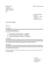 Exemple De Courrier Pour Demander Une Baisse De Prix