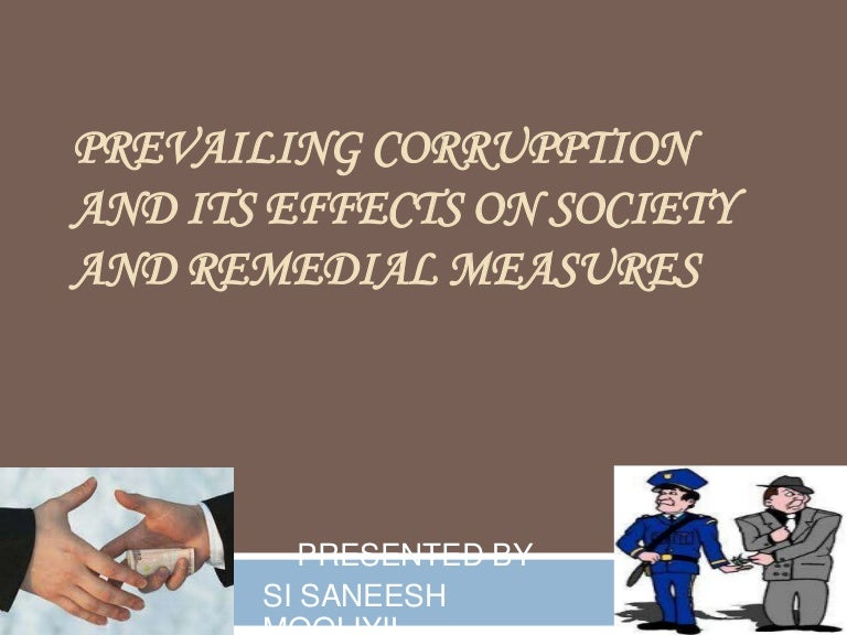 essay on causes of corruption in india Corruption in India