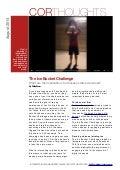 Cor Thoughts - Ice Bucket Challenge 2014