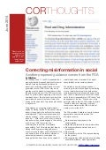 Correcting misinformation in social