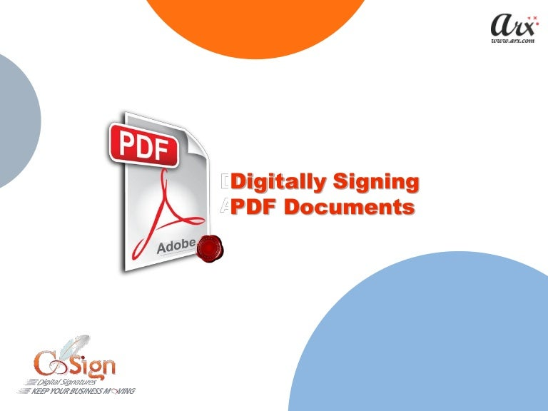 Create digital signature for your documents systools blog.