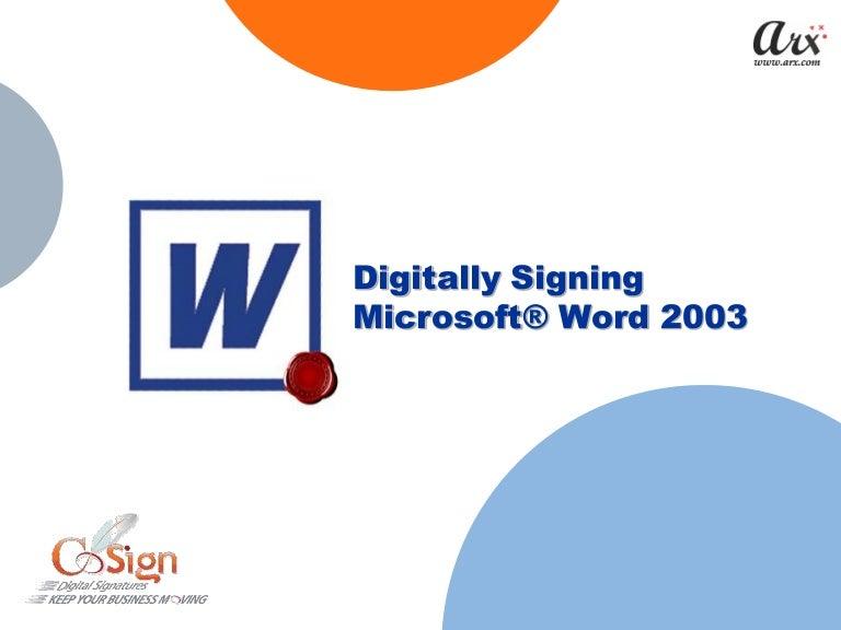 Cosign digital signatures for pdf.