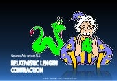 Cosmic Adventure 5.5 Relativistic Length Contraction