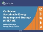 Energy Situation of CARICOM Member Countries