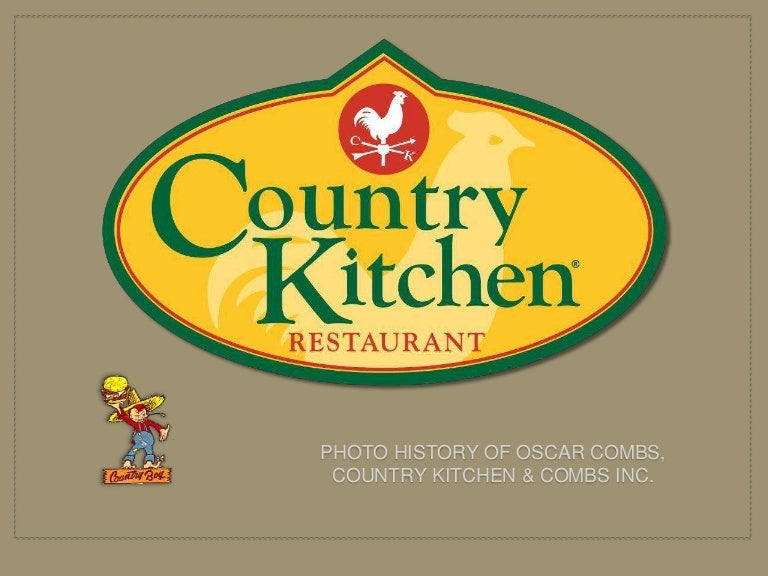 Country Kitchen Logo oscar combs and country kitchen