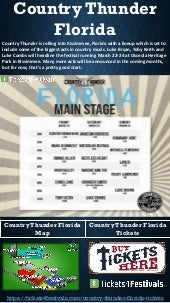 Country Thunder Florida Tickets from Tickets4Festivals
