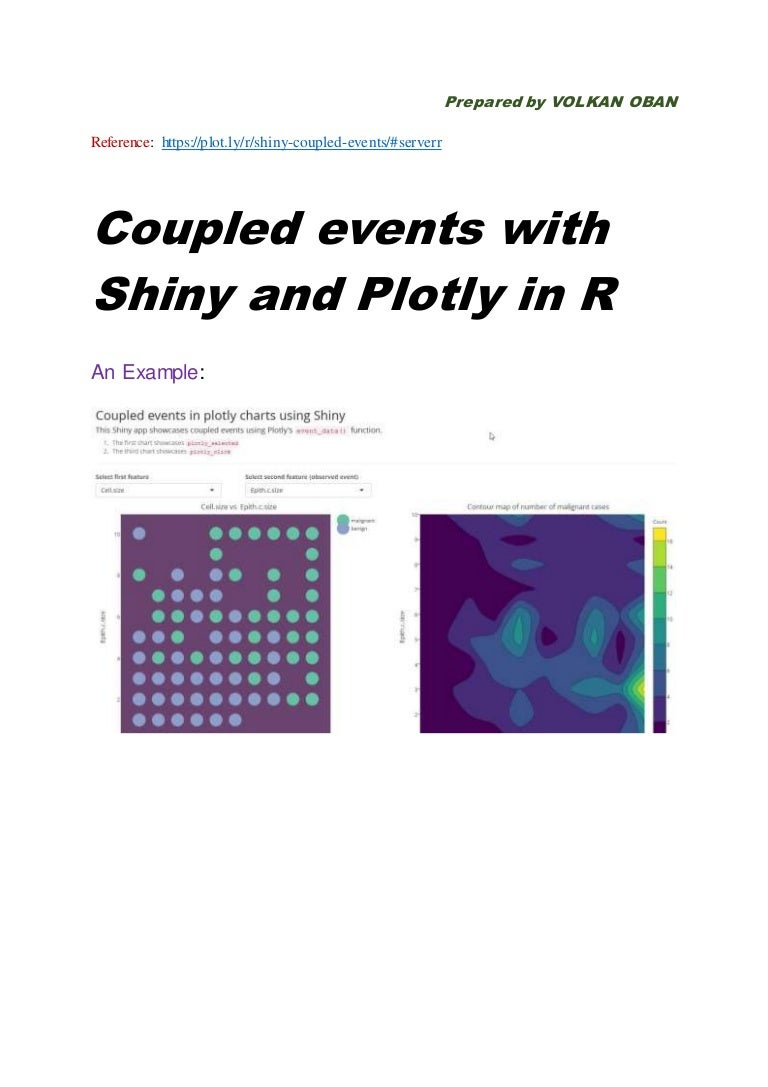 Using Shiny and Plotly in R