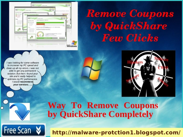 Remove Coupons by QuickShare