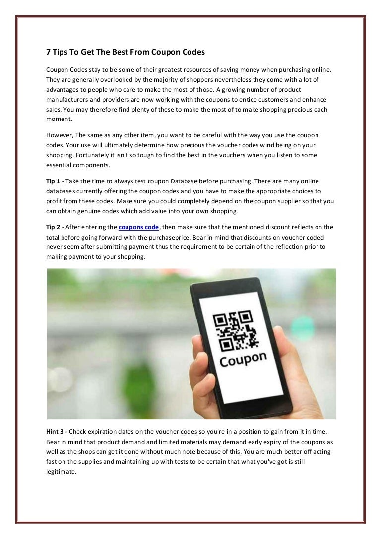 Coupons Code