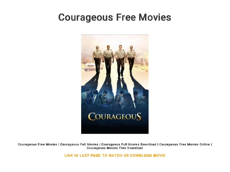 watch courageous online for free without downloading