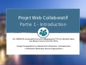 Cours projet web collaboratif - partie 1 : Introduction, version 2019