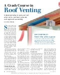 Course in-roof-venting