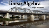 Course presentation linear algebra