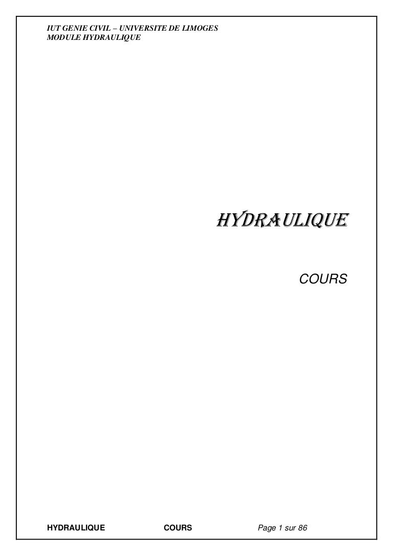 Cours Hydraulique licence 50c38e71980