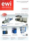 SOLO Swiss and Borel Swiss in cover of german magazine EWI N°4 2016