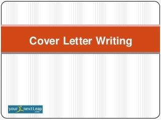 cover letter examples journalism   Cover Letter SlideShare SashaMayDea p
