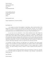 Cover letter For Electronics & Communications Student
