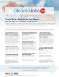 How to Write a Cover Letter that Matters