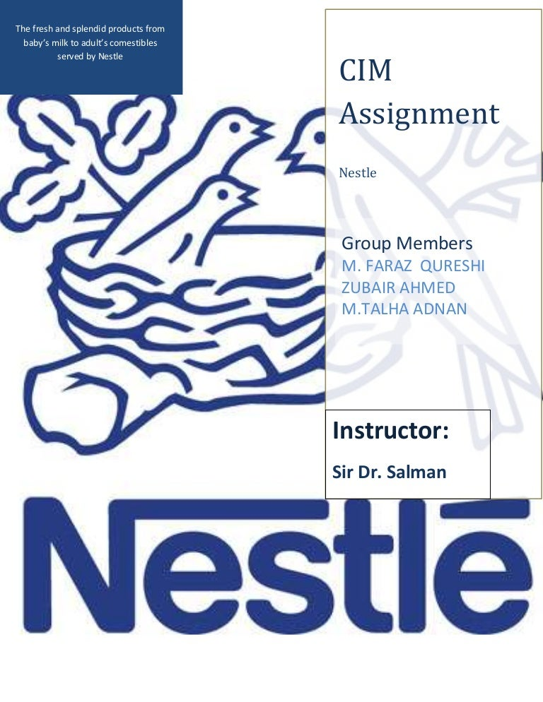 nestle article Nestlé is the world's leading nutrition, health and wellness company with headquarters in switzerland, nestlé has offices, factories and research and development centres worldwide.