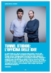 aprile 2018 MediaKey - Cover Story  /// Tunnel Studios vince l'Interactive Key Award